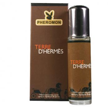 """Духи масляные, """"Terre D'Hermes"""",  HERMES, 10ml"""